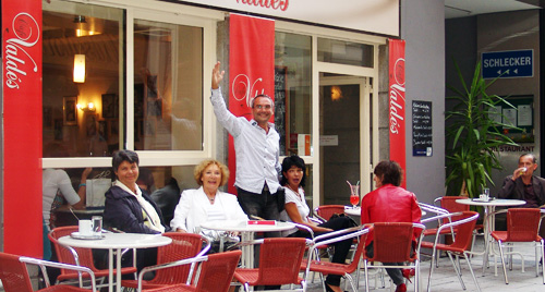 Cafe-Valdes: DAS LOKAL